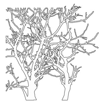 The Crafter's Workshop Stencil, Branches