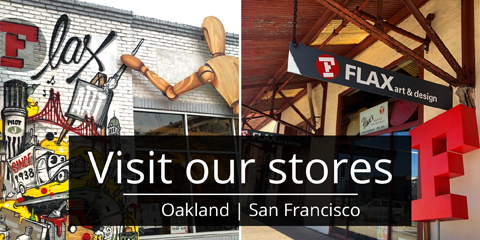 FLAX Art Supply Stores - San Francisco and Oakland