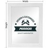 Design a Customized Mirror to Fit Your Space