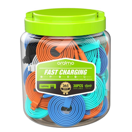 ( jar - 30 pices ) Cable-OCD-L22-2.1A-Lightning