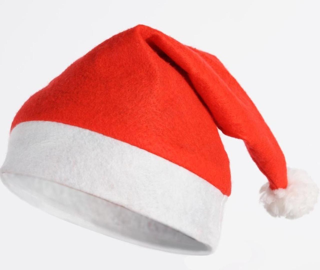 be40f72c8f552 SANTA HATS BULK 100 Budget Hats - Sydney Party Shop