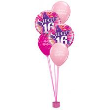 Sweet Sixteen Birthday Balloon Bouquet