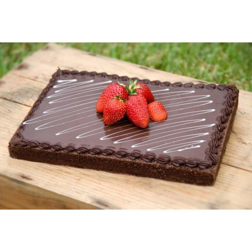 Chocolate French Mud Cake Half Slab