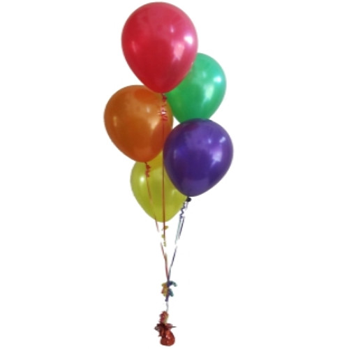 5 Balloon Bouquets On Weight
