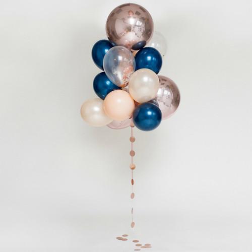 Balloon Bouquet Kit - Giant : Midnight Blushes