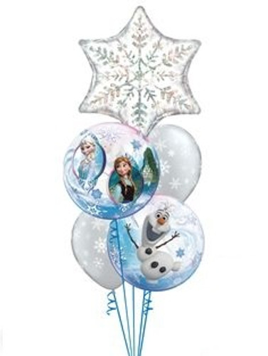 Frozen Christmas Balloon Bouquet