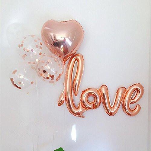 Love Confetti Balloons Bouquet