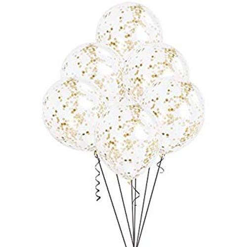 7 Confetti Balloons Bouquet