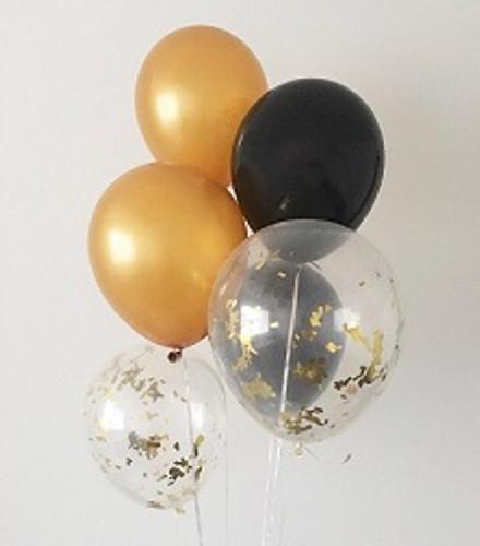 Newyear Confetti Balloon Bouquet 1
