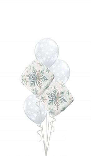 Snowflake Balloon Bouquet