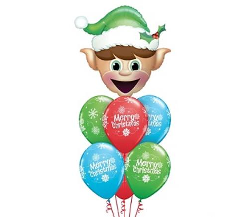 Christmas Balloon Bouquet 4