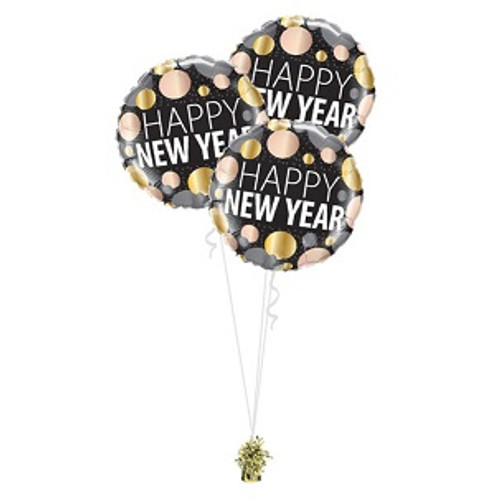 New Year Balloon Bouquet