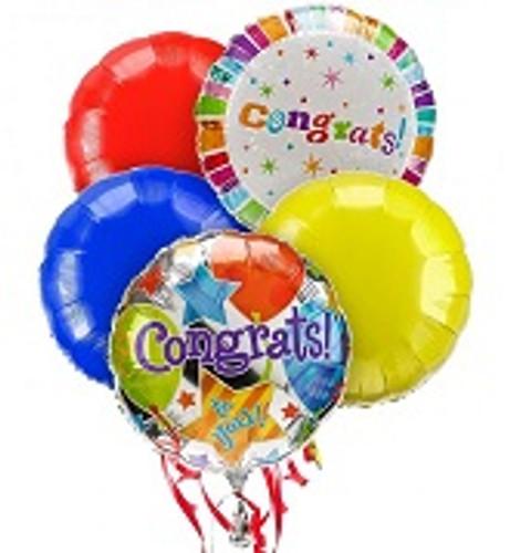 Congrats Balloon Bouquet 5