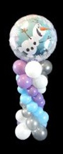 Olaf Balloon Stand