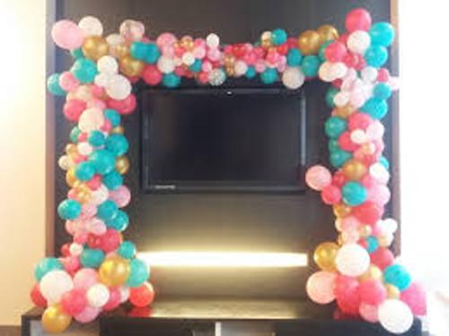 Organic Balloon Arch 7