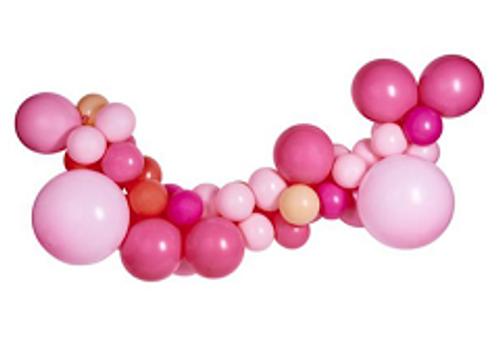 Organic Balloon Garland 12
