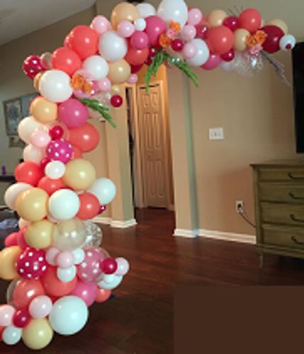 Organic Balloon Arch 18