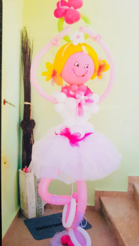 Ballerina  Balloon Sculpture