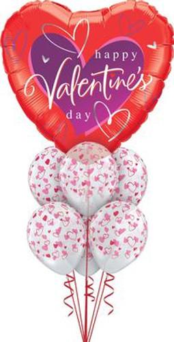 Valentine day Balloon Bouquet 1