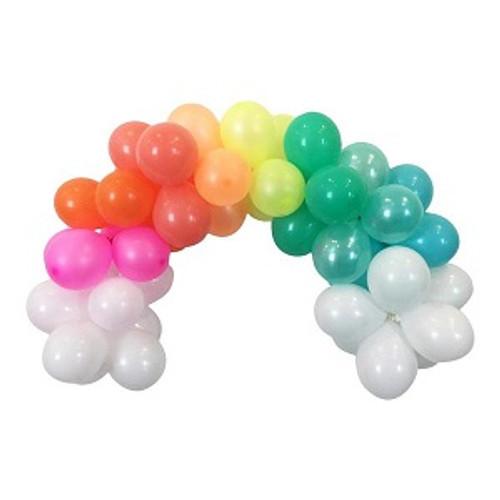 Rainbow Balloon Garland 15
