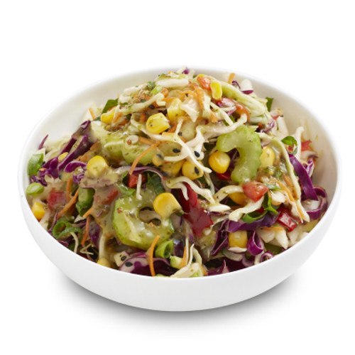 Corn and Coriander Slaw Salad