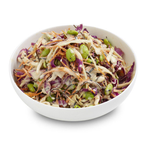 Japanese Slaw With Seseme Mayo Salad