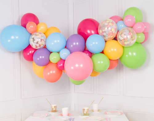 Organic Balloon Garland 19