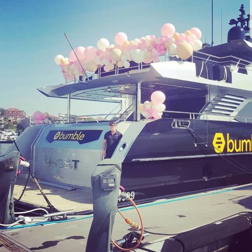 Balloon Boat Garland