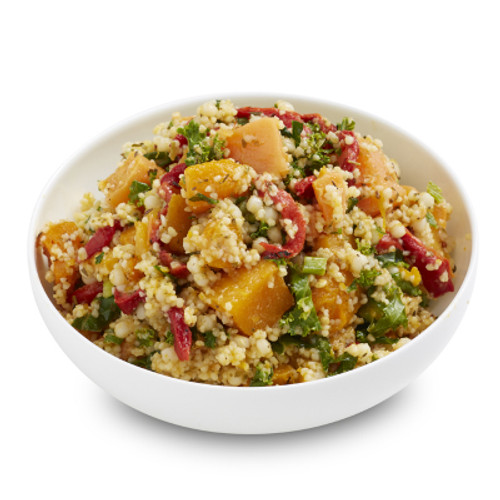 Sweet Potato Kale and Cous Cous Salad