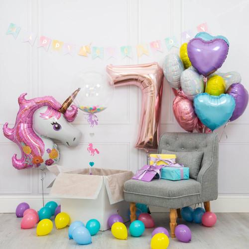 Ultimate Unicorn Balloon Party Combo