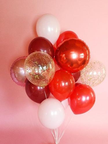Valentines Balloon Bouquet