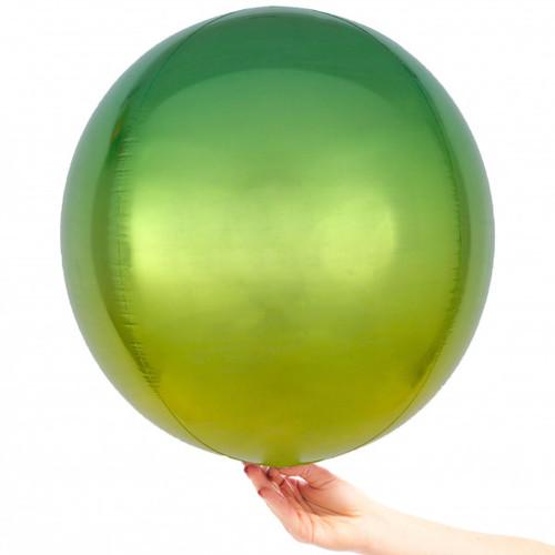 Orb Balloon Ombre Green