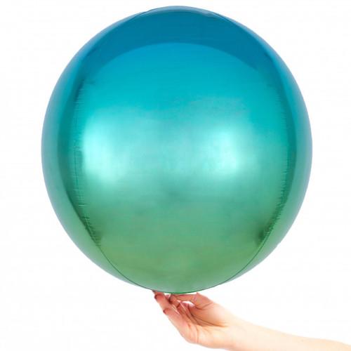 Orb Balloon Ombre Blue