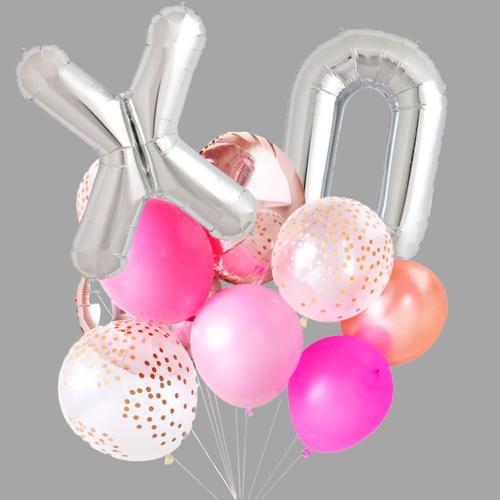 XO Balloon bouquet