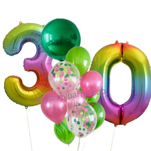 Garden themed balloon bundle