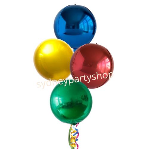 All orbz Christmas balloon bouquet