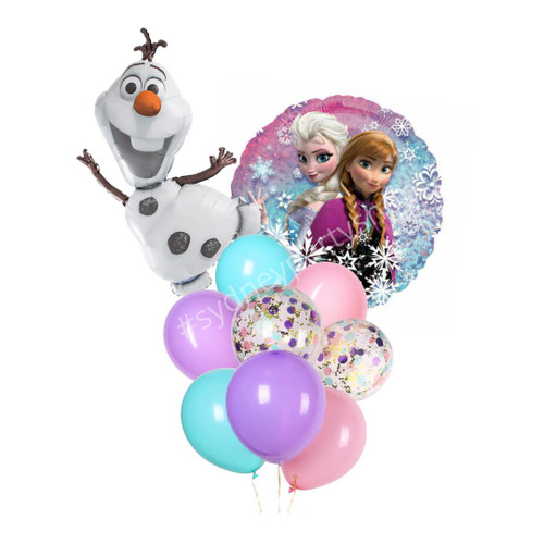 Licensed Disney Frozen Balloon bouquet