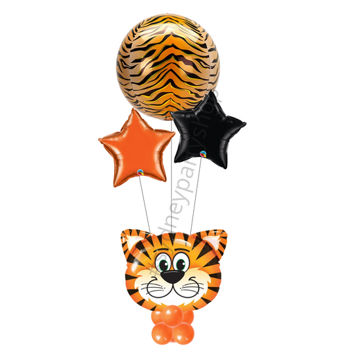 Tiger-themed marquee balloon