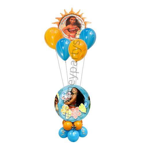 Licensed Moana marquee balloon