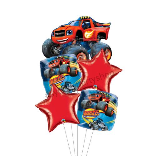 Monster Truck balloon bouquet