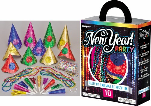 NEW YEAR PARTY KIT FOR 10
