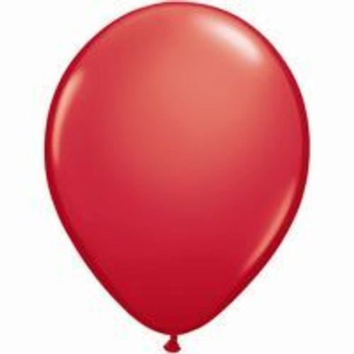 12cm Standard Red Latex Balloon - Pack of 100