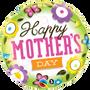 """FOIL 18"""" MOTHERS DAY SPRINGTIME"""