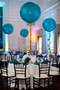 Jumbo Balloon with Honeycomb and Sparkling Tassel