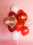 Red Balloon bouquet