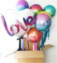 Love Orb and Foil Tassel Balloon Combo