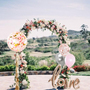 Love Tassel and Flower Arch combo