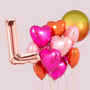 Young love balloon bouquet