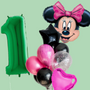 Licensed Minnie Mouse balloon bouquet