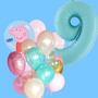 Licensed Peppa pig balloon bouquet